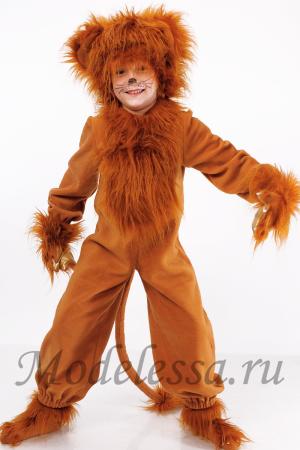 Новогодний костюм лев своими руками
